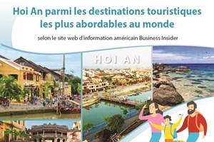 Hoi An parmi les destinations touristiques les plus abordables au monde
