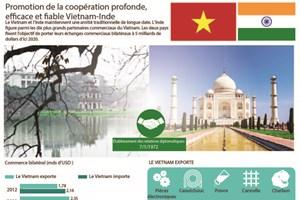 Promotion de la coopération profonde, fiable et efficace Vietnam-Inde