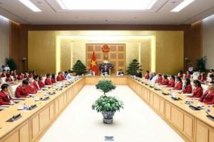 ASIAD 2018 : Le PM félicite des résultats de la délégation vietnamienne