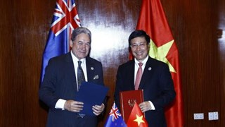 Le Vietnam promeut la coopération avec la Nouvelle-Zélande et la Papouasie-Nouvelle-Guinée