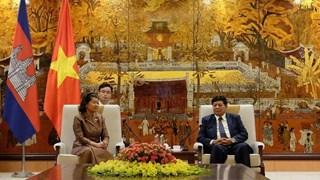 Renforcement de la coopération entre Hanoï et Phnom Penh