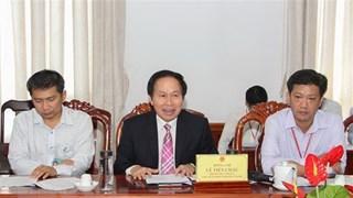 La JETRO étudie l'environnement d'investissement à Hau Giang