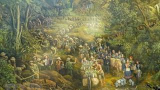 Achever un tableau panoramique pour faire revivre la bataille de Diên Biên Phu