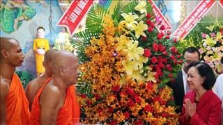 Des voeux pour les bouddhistes à l'occasion du 2563e anniversaire de naissance de Bouddha