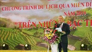 Ouverture de la Semaine culturelle des rizières en terrasse de Hoàng Su Phi 2019