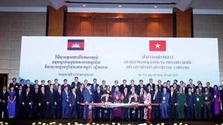 Conférence-bilan sur la délimitation et le bornage de la frontière terrestre Vietnam-Cambodge