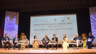 Forum d'éducation universitaire Vietnam- Italie