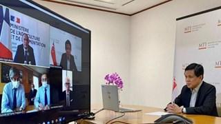 France-Singapour : déclaration conjointe pour développer les échanges agroalimentaires