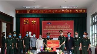 COVID-19 : Remise de matériels médicaux à des provinces du Nord du Laos