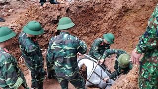 Vinh Phuc: Déplacement réussi d'une bombe de 340 kg hors de la zone résidentielle