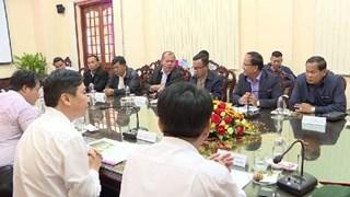 Dong Thap et Pray Veng (Cambodge) promeuvent le commerce transfrontalier