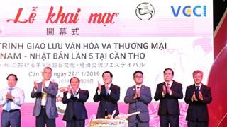 Le 5e programme d'échange culturel et commercial Vietnam-Japon à Can Tho