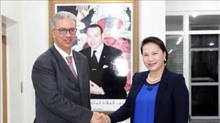 La présidente de l'AN se rend dans la ville de Marrakech au Maroc