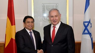 Une délégation du Parti en visite de travail en Israël