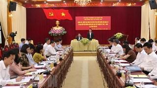 Le vice-président de l'AN Nguyen Duc Hai inspecte la préparation des élections à Yen Bai