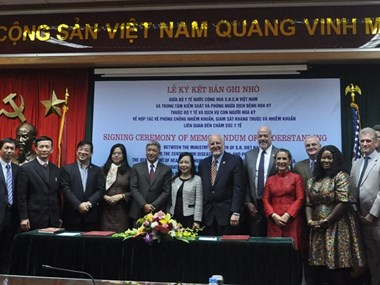 Vietnam et Etats-Unis renforcent leur coopération dans la santé