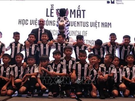 Inauguration de l'Académie footballistique Juventus Vietnam