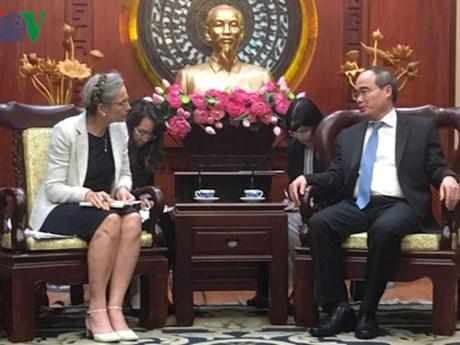 Les Pays-Bas sont prêts à soutenir Ho Chi Minh-Ville face au changement climatique