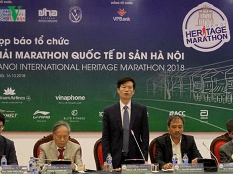 Plus de 2.500 coureurs participeront au marathon international du patrimoine de Hanoi