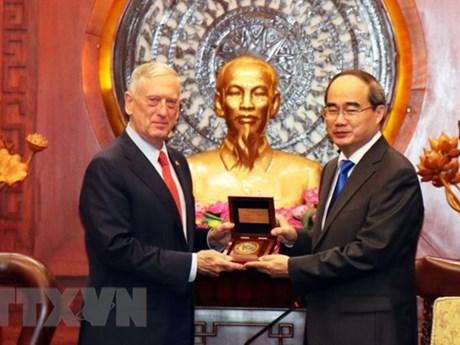 Le Vietnam considère les Etats-Unis comme un partenaire important