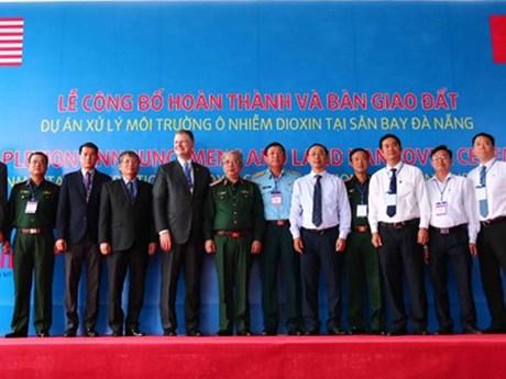 Accomplissement du traitement de la dioxine à l'aéroport international de Da Nang