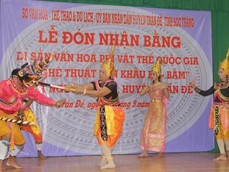 Soc Trang : le théâtre Ro Bam reconnu patrimoine culturel immatériel national