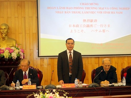 Ha Nam accueille une délégation d'entreprises japonaises