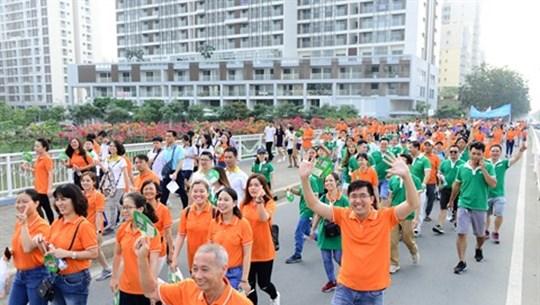 Marche philanthropique Lawrence S. Ting à Hô Chi Minh-Ville