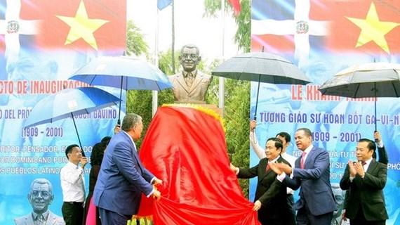Inauguration du mémorial du 1er président dominicain à Hanoï