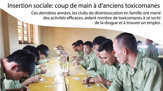 Insertion sociale: coup de main à d'anciens toxicomanes