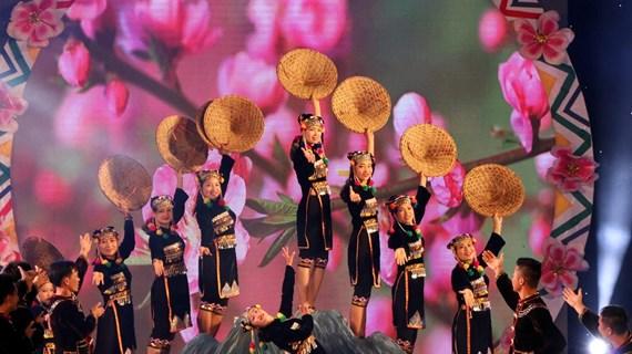 Clôture du 6e Festival de jeu de lancer de balles d'étoffe Vietnam-Laos-Chine
