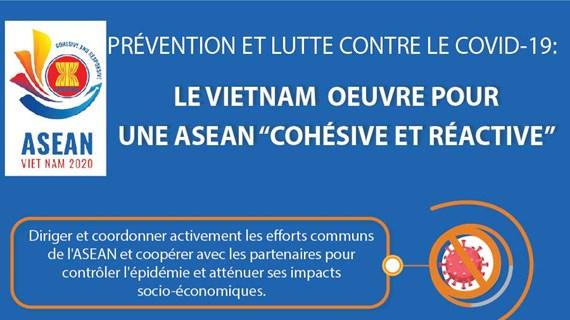 """Le Vietnam oeuvre pour une ASEAN """"cohésive et réactive"""""""