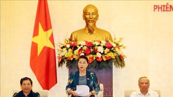 Le Comité permanent de l'AN entame sa 46e session à Hanoi