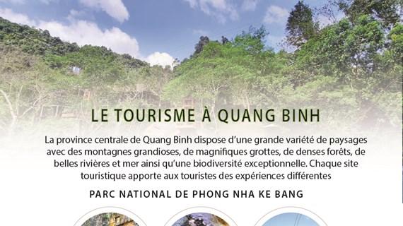 Le tourisme à Quang Binh