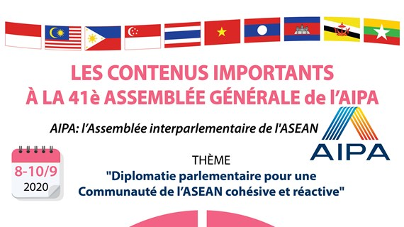 Les contenus importants à la 41e Assemblée générale de l'AIPA