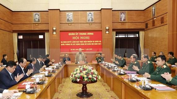 La Commission militaire centrale fait le bilan des activités de 2020
