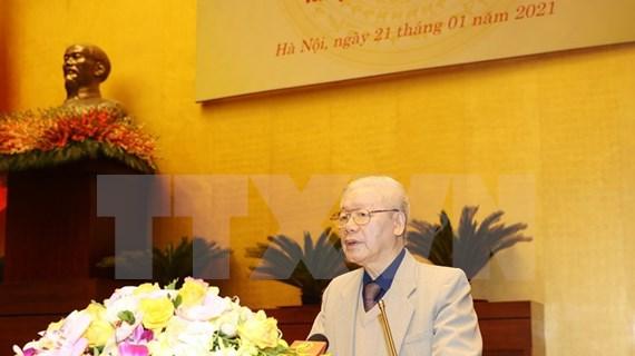 Le dirigeant Nguyen Phu Trong demande d'organiser avec succès les prochaines élections législatives