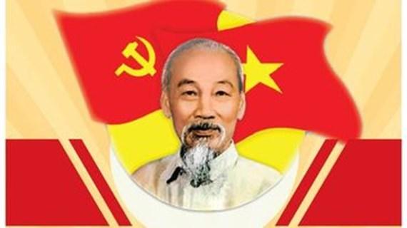 Le président Hô Chi Minh, fondateur du Parti communiste du Vietnam
