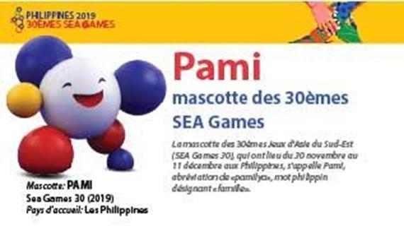 Pami, mascotte des 30èmes SEA Games