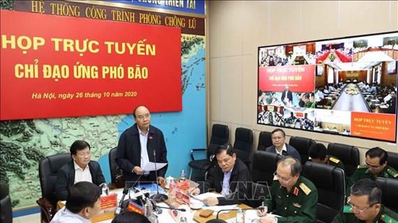 Le PM dirige des mesures pour une réponse d'urgence au typhon MOLAVE