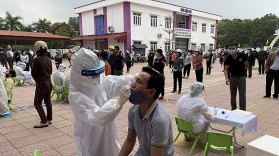 COVID-19: neuf nouveaux cas signalés à Hai Duong mercredi après-midi