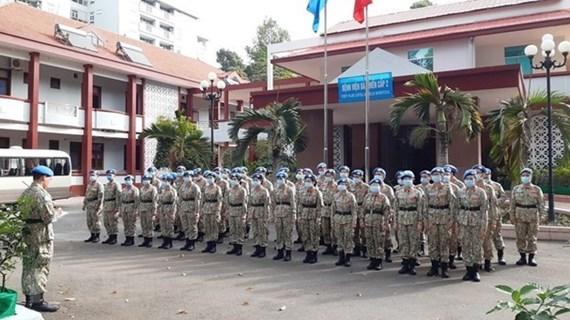 La force de maintien de la paix du Vietnam est très appréciée