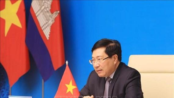 Vietnam et Cambodge renforcent leur coopération dans la construction d'une frontière commune de paix