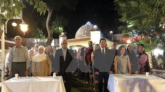 Célébration des 50 ans de l'application du Testament du Président Ho Chi Minh en Egypte  