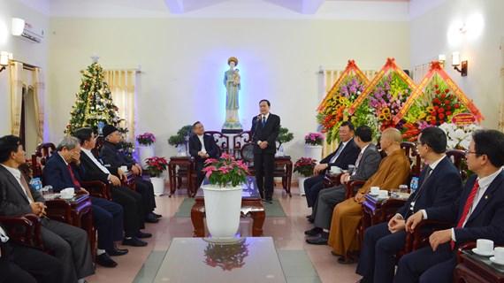 Vœux de Noël du FPV aux catholiques du diocèse de Bui Chu