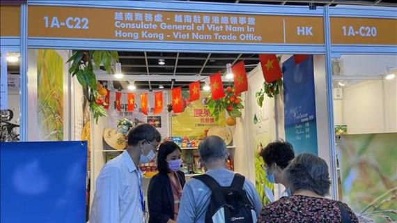 Le Vietnam à la foire internationale des produits alimentaires de Hong Kong 2021