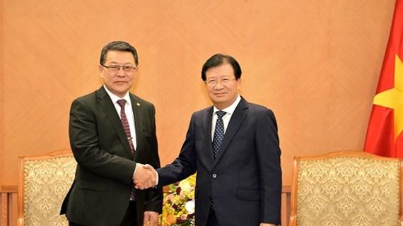Renforcement de la coopération économique Vietnam-Mongolie