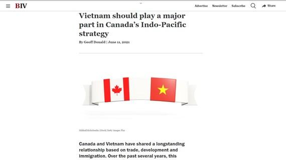 Le milieu des affaires du Canada souligne les potentiels de la coopération avec le Vietnam