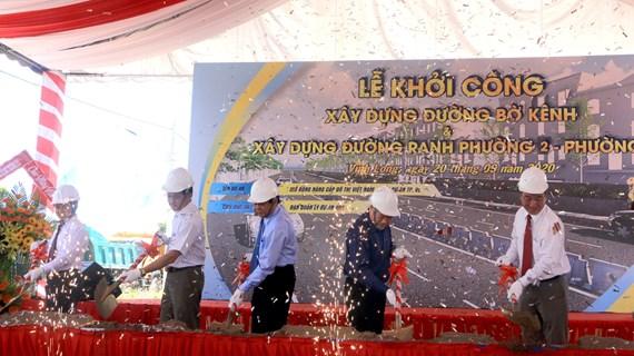 Vinh Long:  inauguration de nombreux travaux à l'occasion du XIe Congrès du Parti