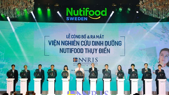 Inauguration de l'Institut de recherche sur la nutrition Nutifood en Suède
